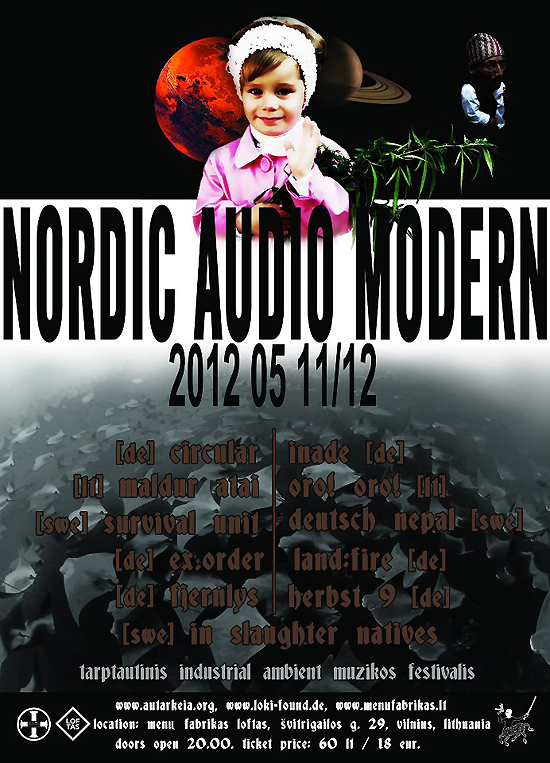 Flyer Nordic Audio Modern